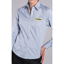 Ladies Blended Pinpoint Oxford