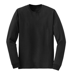 Mens Blended Long Sleeve Tee