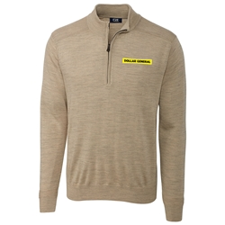Mens Douglas Half Zip Mock